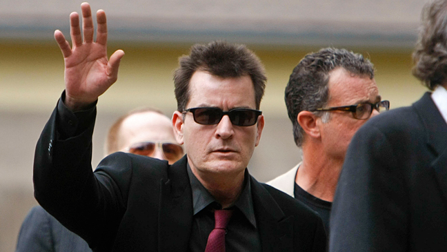 Charlie Sheen - August 2010