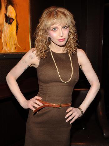 Courtney Love Brown 2011