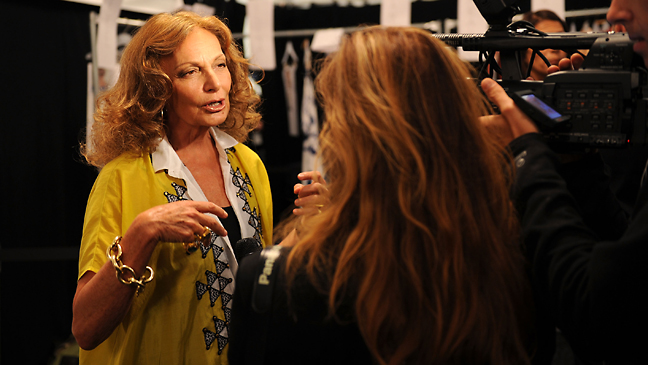 Diane von Furstenberg Interview 2011