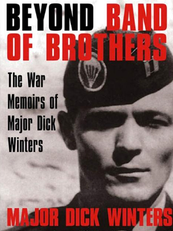 Major Dick Winters - Book Cover