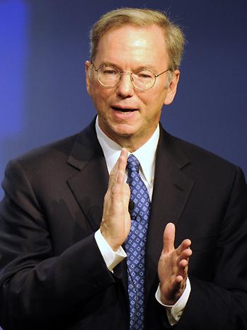 Eric Schmidt Google CEO