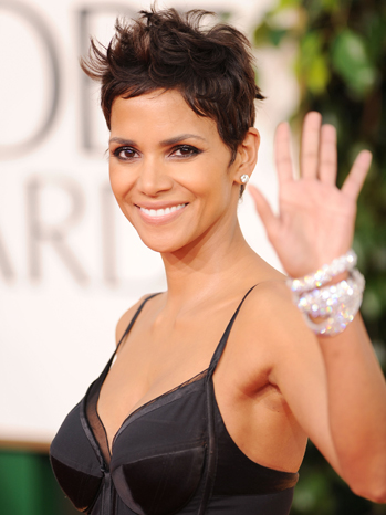 Halle Berry Globes Wave 2011