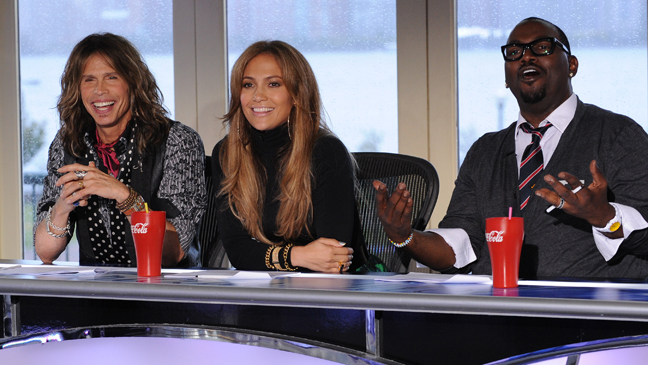 American Idol Judges Steven Tyler, Jennifer Lopez, Randy Jackson