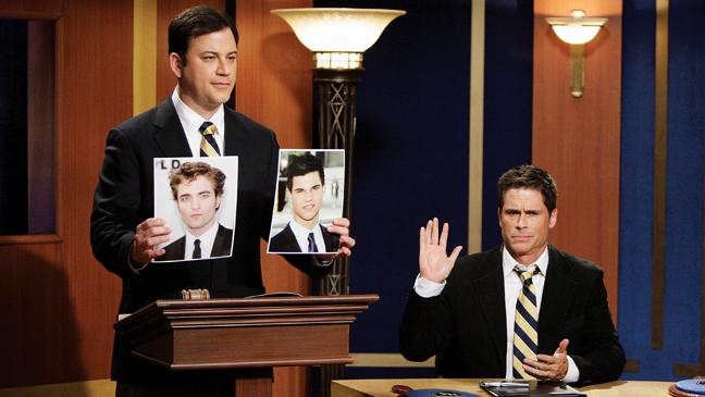 3 BIZ Jimmy Kimmel & Rob Lowe