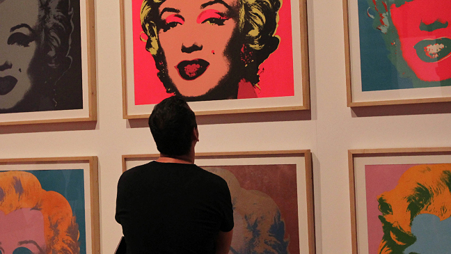 Marilyn Monroe - Andy Warhol Silkscreen - 2011