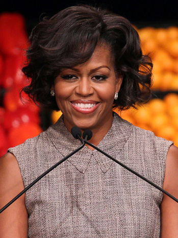 Michelle Obama - Announcement About Food - 2011