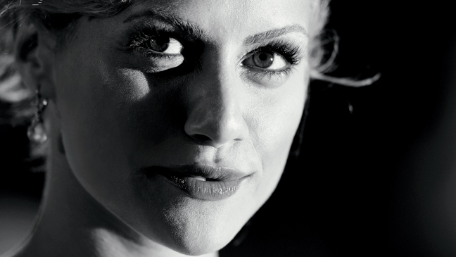 2 FEA Brittany Murphy Black & White Image
