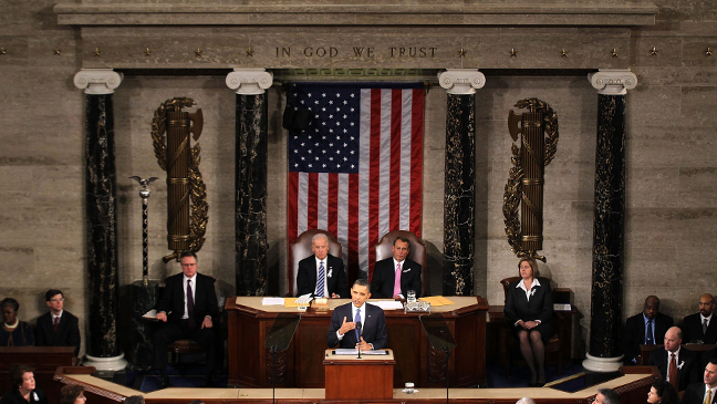 President Barrack Obama State of the Union Speech 2011