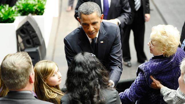 Barack Obama - Memorial - Tucson, Arizona - 2011
