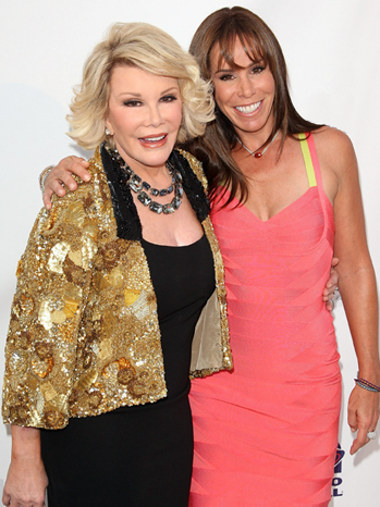 Joan & Melissa Rivers - The Comedy Central Roast Of Joan Rivers - Arrivals- 2009