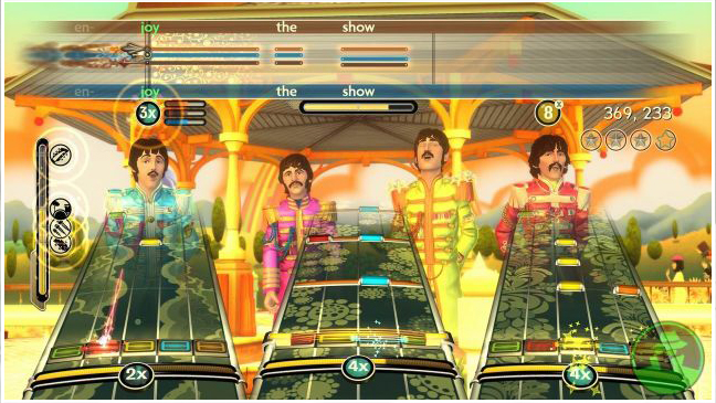 Beatles Rock Band - Video Game Still - 2010