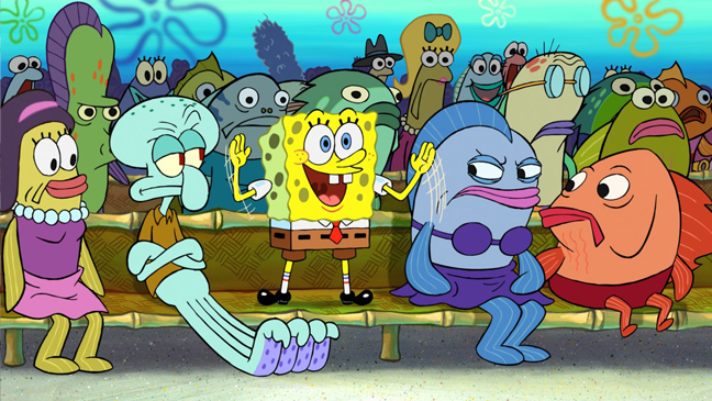 SpongeBob Squarepants - cartoon still - 2010