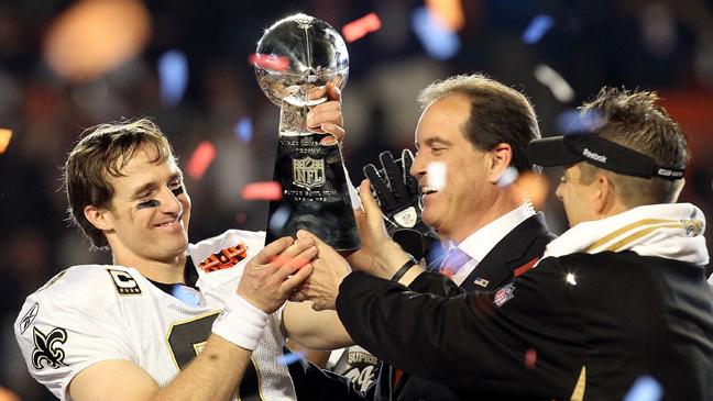 3 REP Super Bowl Trophy