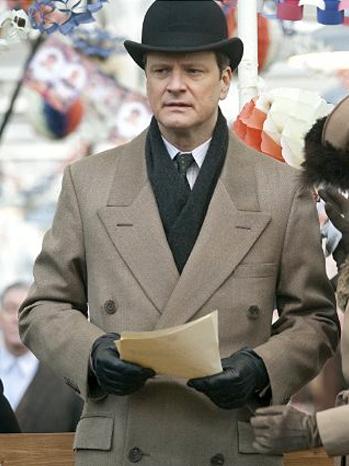 Colin Firth - The King's Speech - Screen Grab - 2010