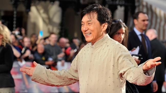 Jackie Chan - Karate Kid - UK Film Premiere - 2010