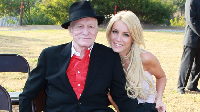Hugh Hefner & Crystal Harris - Griffith Park at Lake Hollywood Park Celebration -  2010