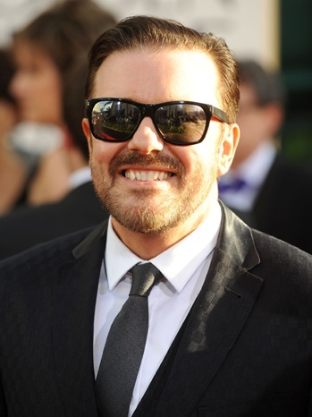 Ricky Gervais - 68th Annual Golden Globe Awards - Arrivals - 2011