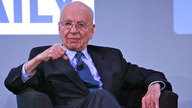 """Rupert Murdoch - """"The Daily"""" Launch - 2011"""