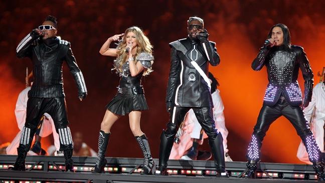 Black Eyed Peas - Halftime Show @ Superbowl- 2011