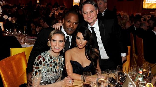 Heidi Klum, Jamie Foxx, Kim Kardashian, Jason Binn