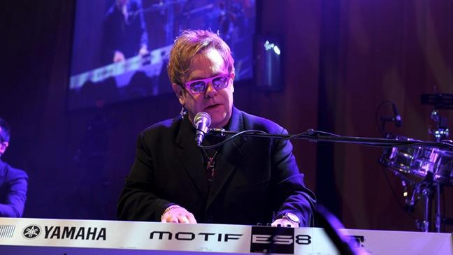 Elton John-19th Annual Elton John AIDS Foundation Academy Awards Viewing Party-2011