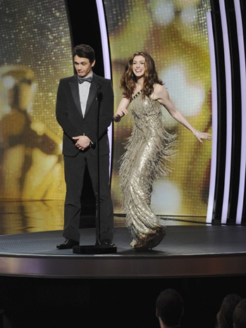 83rd Academy Awards - Show Moments - Anne Hathaway & James Franco - 2011