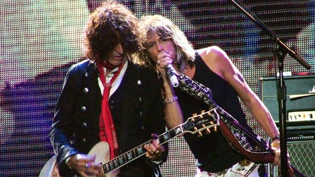 Aerosmith - Performing live Steven TYLER and Joe PERRY - 2007
