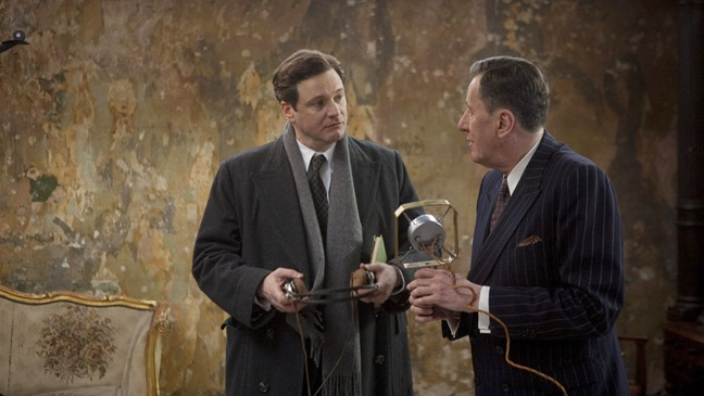 The King's Speech - Colin Firth & Jeffrey Rush - 2010