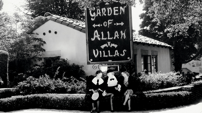<p>From the 1910s to the 1940s, the Garden of Allah was a go-to spot for Hollywood stars who wanted a getaway for a lovers tryst or simply a place to stay while shooting a movie. The property, which was owned by silent-film star Alla Nazimova, consisted of a mansion and 25 villas.&nbsp&#x3B;</p>