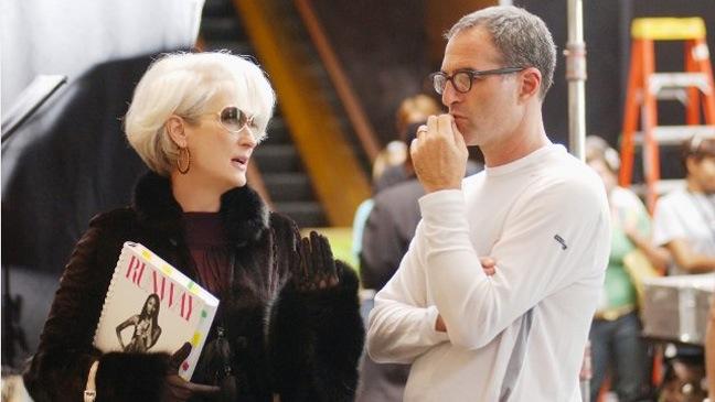 Meryl Streep and David Frankel in The Devil Wears Prada - 2006
