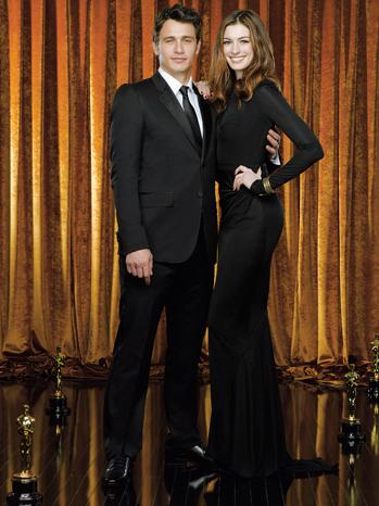 8 FEA James Franco & Anne Hathaway