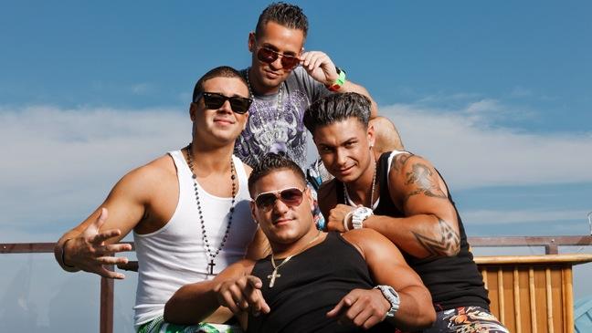 Jersey Shore - PR Portrait - Situation, Vinnie, Paulie and Ronnie - 2011