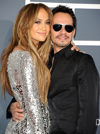 Jennifer Lopez Marc Anthony Grammy Awards 2011