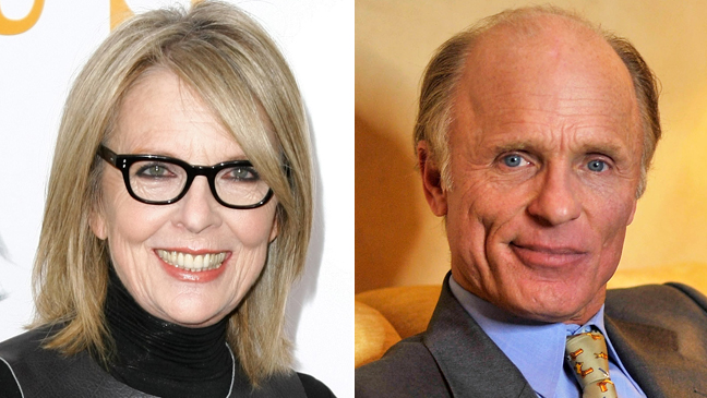 Diane Keaton Ed Harris Split 2011