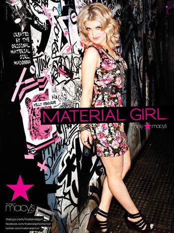Kelly Osbourne Material Girl Ad2