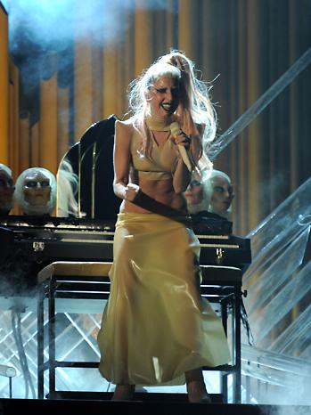 Lady Gaga Grammy Awards Performance 2011