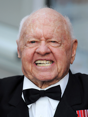 Mickey Rooney Headshot 2011