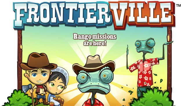 Rango and FrontierVille-Film-Game Promo-2011