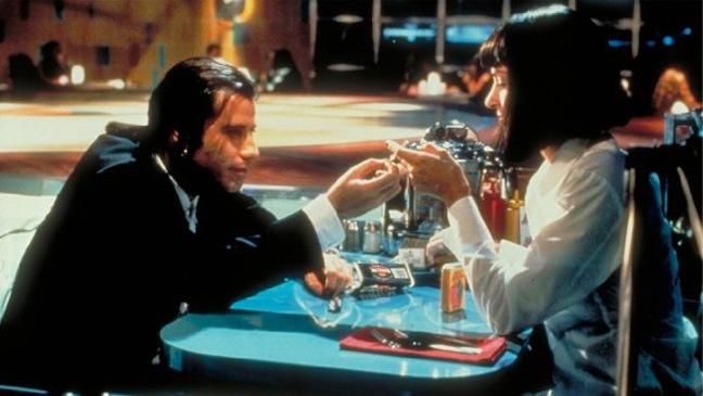 Pulp Fiction - Movie Still - John Travolta, Uma Thurman - 1994