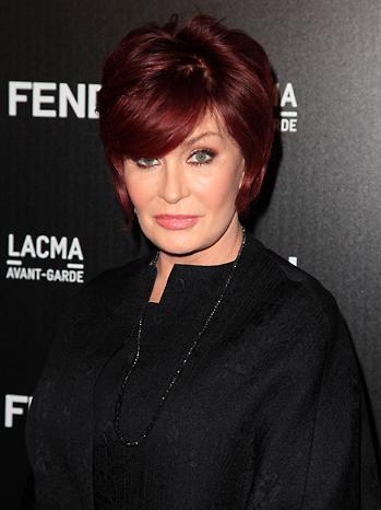 Sharon Osbourne Fendi 2010
