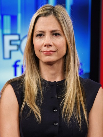 Mira Sorvino-FOX & Friends at the FOX Studio-2010