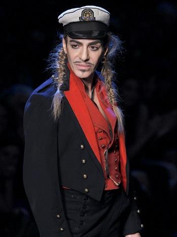 Designer John Galliano-Christian Dior Spring/Summer 2011 Show-2010