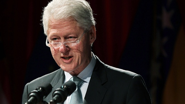 Bill Clinton-Panel hosted by the Clinton Foundation-2011