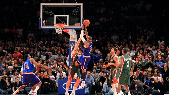 Madison Square Garden-Knicks Game-2011
