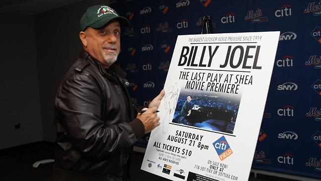 Billy Joel Paper Signing 2011