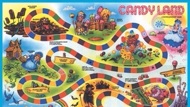 Candyland Game Art 2011