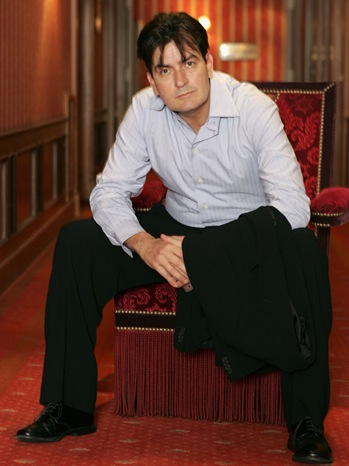 Charlie Sheen - Cannes Portraits - 2006
