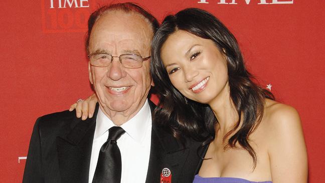 Murdoch and Wendi Deng (2008)