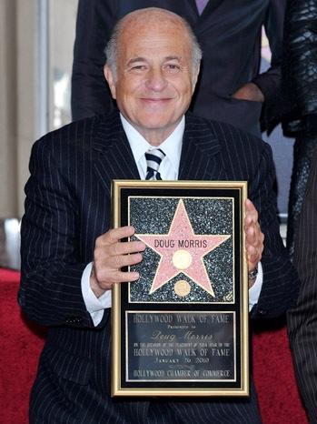 Doug Morris - Hollywood Walk Of Fame - 2010