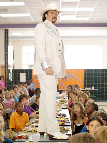 Eastbound and Down White Suit 2011